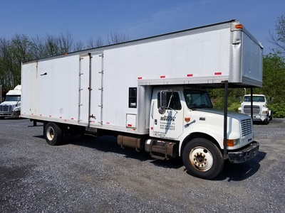 USED 2000 INTERNATIONAL 4900 MOVING TRUCK #8854-1