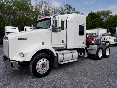 USED 2008 KENWORTH T800 TANDEM AXLE SLEEPER TRUCK #9130-1