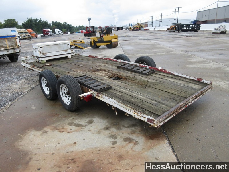 Used 1998 Carson 16 U0026 39  Flatbed Trailer For Sale In Pa  20142