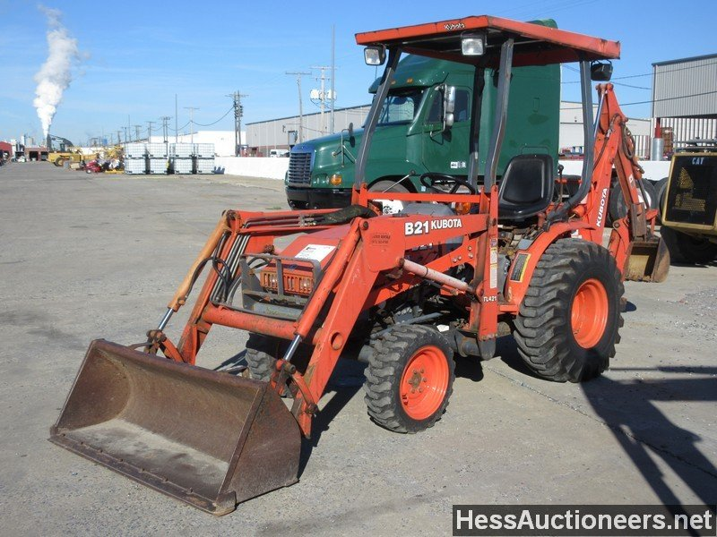 Used Kubota B21 Backhoe For Sale In Pa 20205