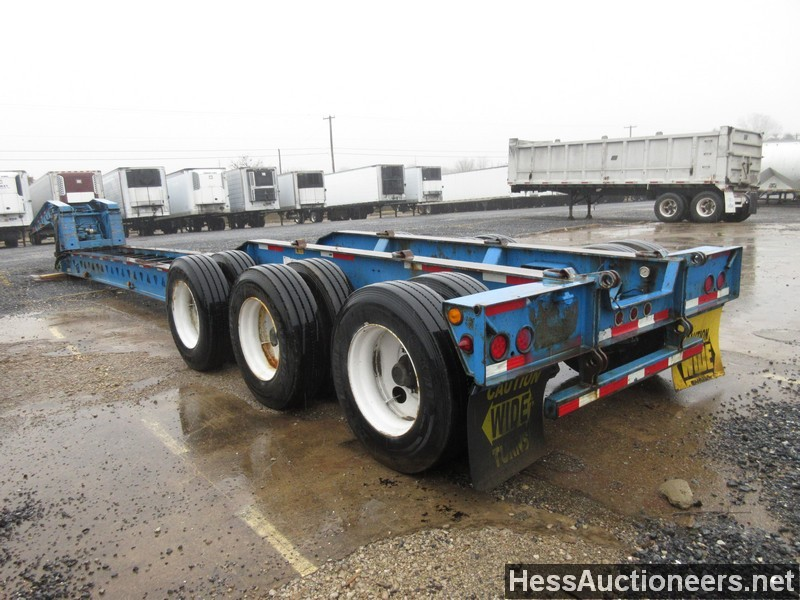 Used 1999 Trailking 51 Beam Trailer Lowboy Trailer For