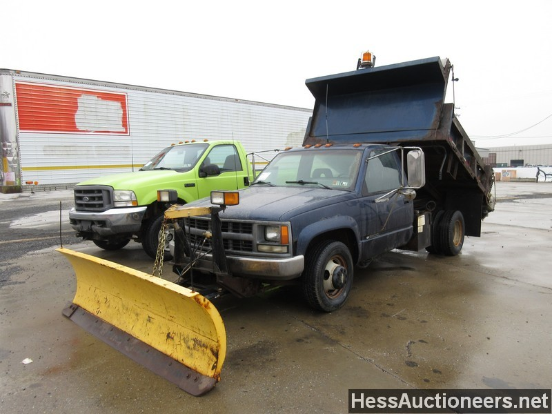 used 1994 chevrolet 3500 dump truck for sale in pa 21966. Black Bedroom Furniture Sets. Home Design Ideas
