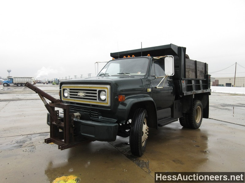 used 1980 chevrolet c 60 s a steel dump truck for sale in pa 21994. Black Bedroom Furniture Sets. Home Design Ideas