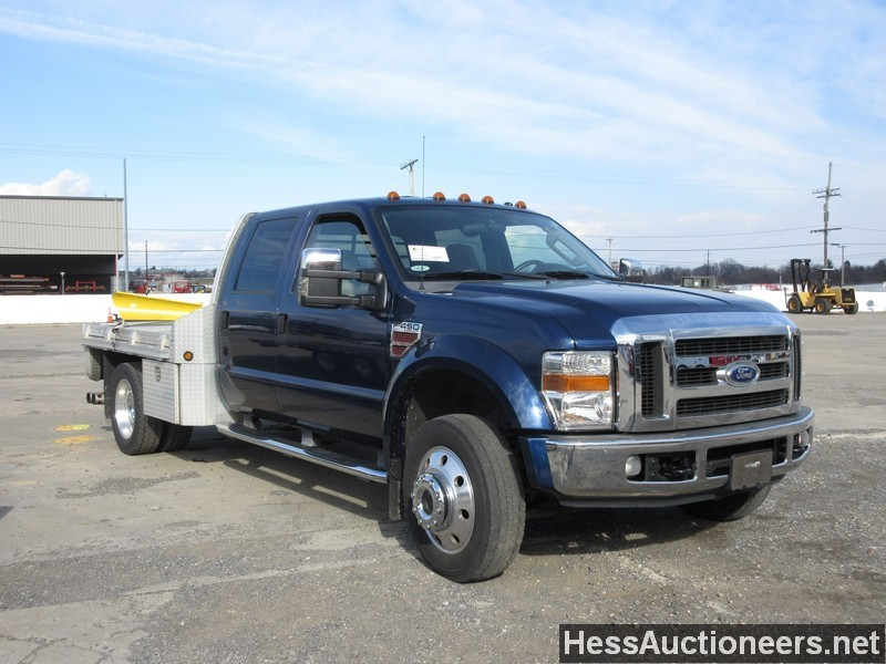 used 2008 ford f450 4wd 1 ton pickup truck for sale in pa 22371. Black Bedroom Furniture Sets. Home Design Ideas