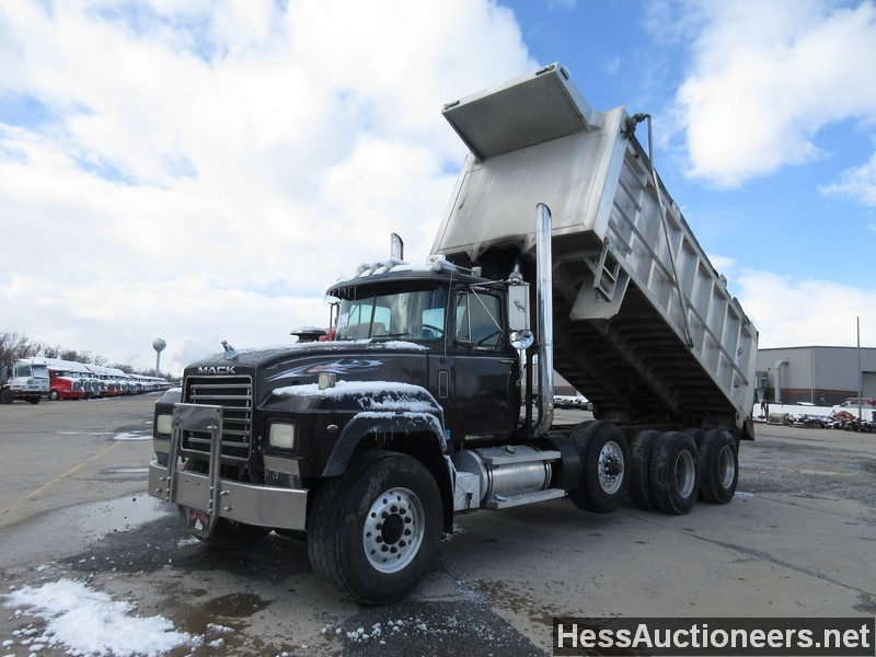 Used 2001 Mack Rd688s T A Aluminum Dump Truck For Sale In