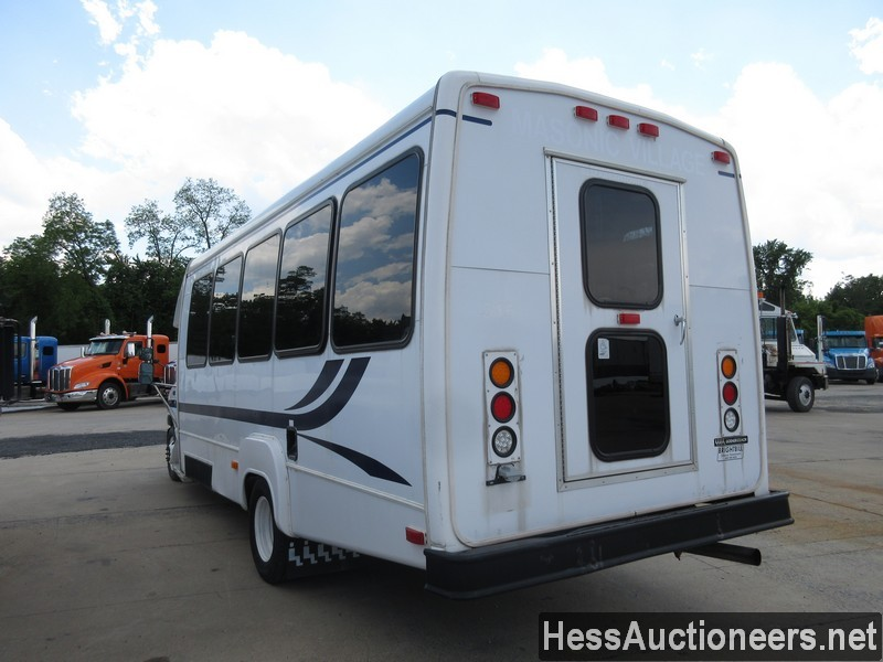 USED 2005 FORD E450 12 PASSENGER TRANSIT BUS FOR SALE IN PA #24355