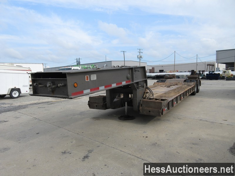 1973 OTHER GENERAL ENGINES 35TON LO Lowboy Trailer
