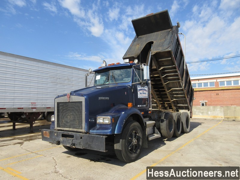 Used 1989 Kenworth 15 Tri Axle Steel Dump Truck For Sale