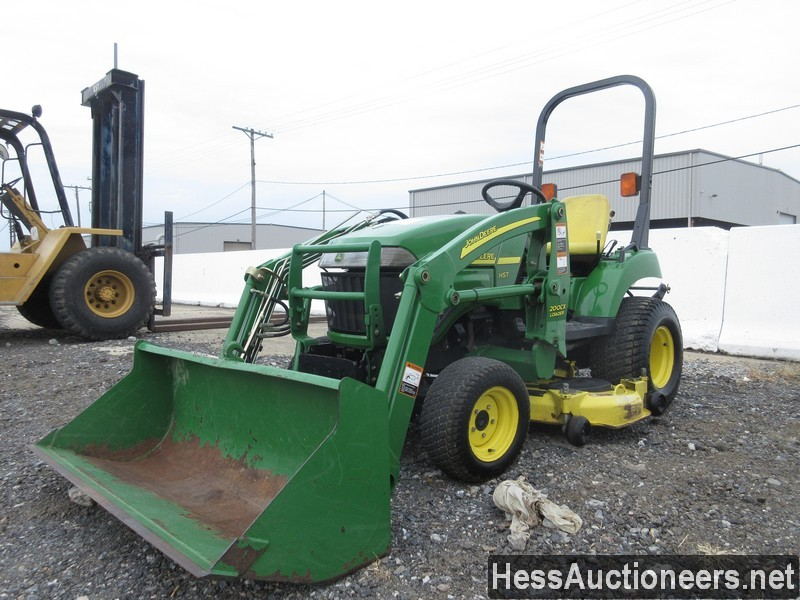 USED JOHN DEERE 2305 FARM TRACTOR EQUIPMENT #28156-1