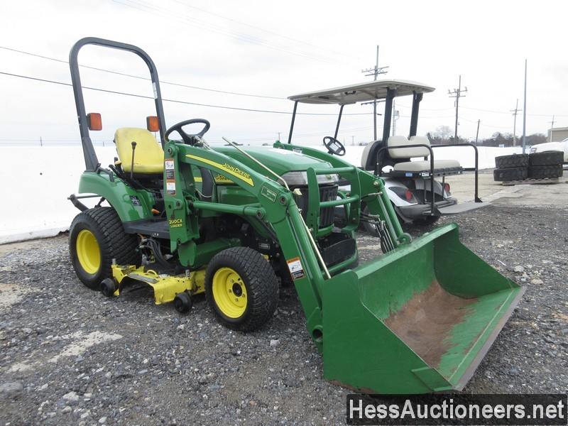 USED JOHN DEERE 2305 FARM TRACTOR EQUIPMENT #28156-2