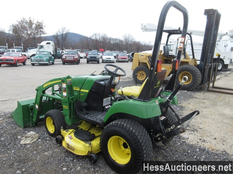 USED JOHN DEERE 2305 FARM TRACTOR EQUIPMENT #28156-4