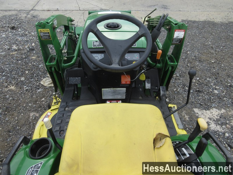 USED JOHN DEERE 2305 FARM TRACTOR EQUIPMENT #28156-7