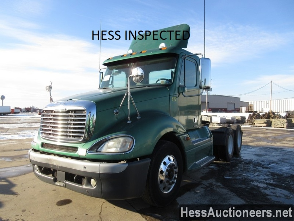 USED 2007 FREIGHTLINER COLUMBIA TANDEM AXLE DAYCAB TRAILER #28679
