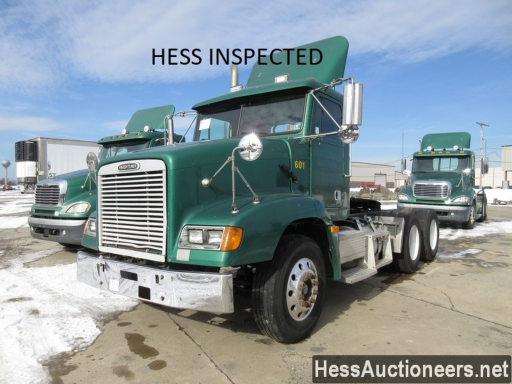 USED 2000 FREIGHTLINER FLD 112 TANDEM AXLE DAYCAB TRAILER #28684
