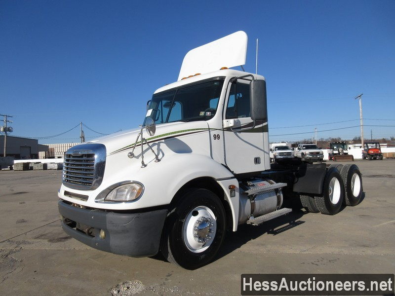 USED 2006 FREIGHTLINER COLUMBIA TANDEM AXLE DAYCAB TRAILER #28754