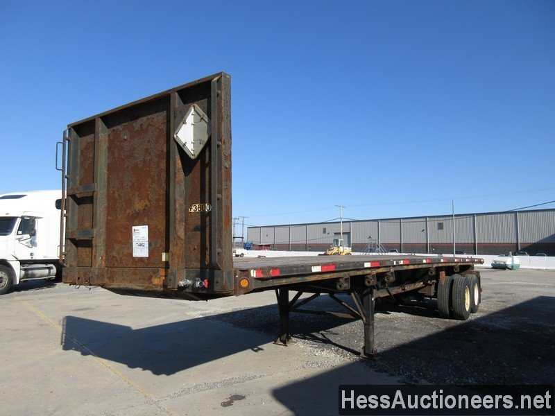2003 FONTAINE 36' Flatbed Trailer