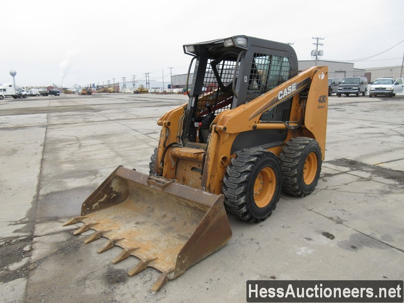 USED CASE 430 SKID LOADER EQUIPMENT #29731