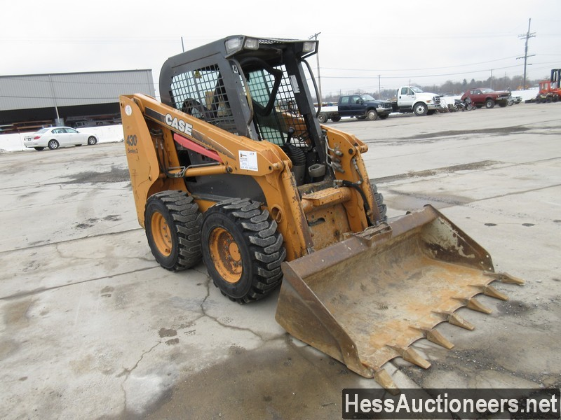 USED CASE 430 SKID LOADER EQUIPMENT #29731-2