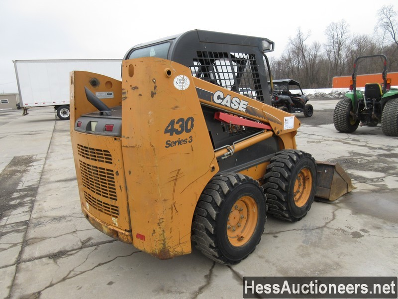 USED CASE 430 SKID LOADER EQUIPMENT #29731-3