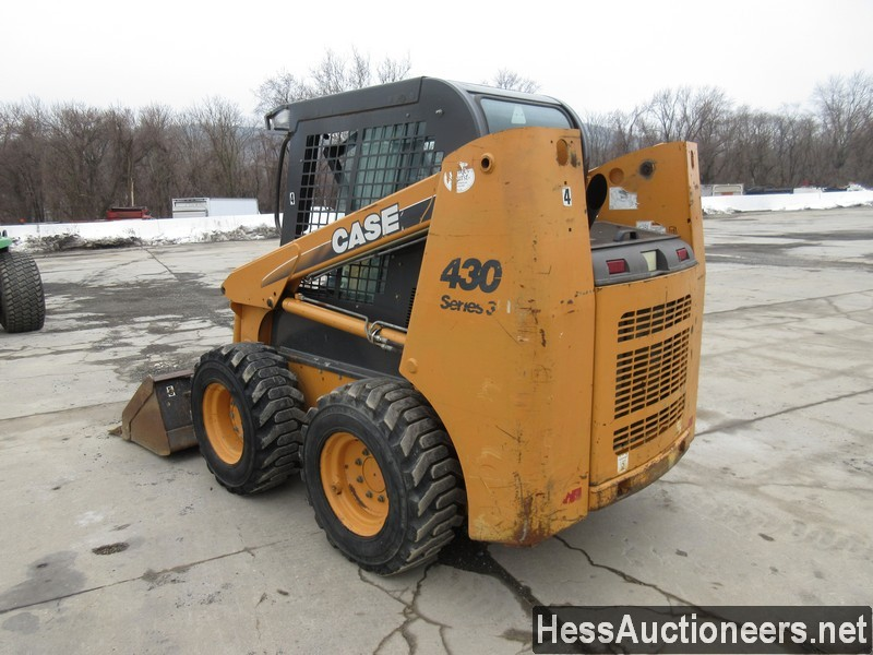 USED CASE 430 SKID LOADER EQUIPMENT #29731-4