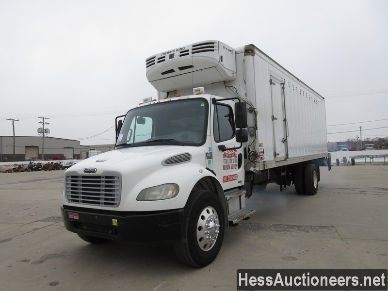 USED 2005 FREIGHTLINER M2 BUSINESS CLASS REEFER TRUCK TRAILER #30034-1