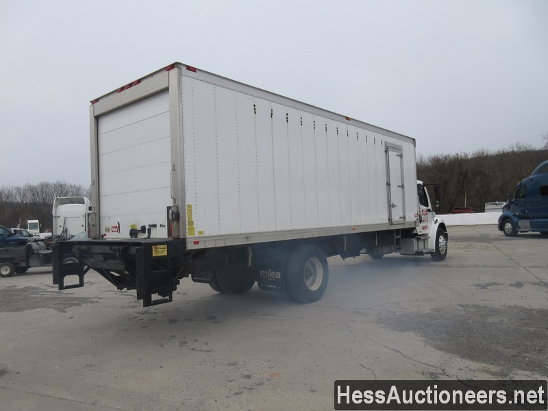 USED 2005 FREIGHTLINER M2 BUSINESS CLASS REEFER TRUCK TRAILER #30034-3