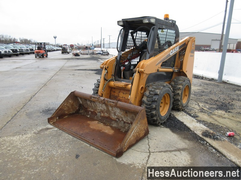 USED 2008 CASE 440 SKID LOADER EQUIPMENT #30324
