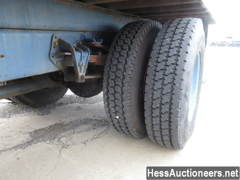 USED 1996 INTERNATIONAL 4700 CRANE TRUCK TRAILER #34387-14