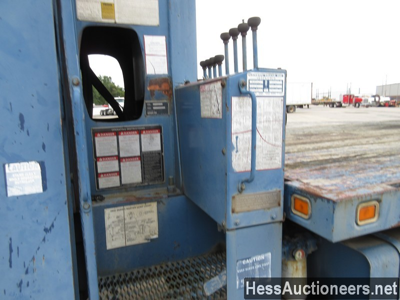 USED 1996 INTERNATIONAL 4700 CRANE TRUCK TRAILER #34387-17
