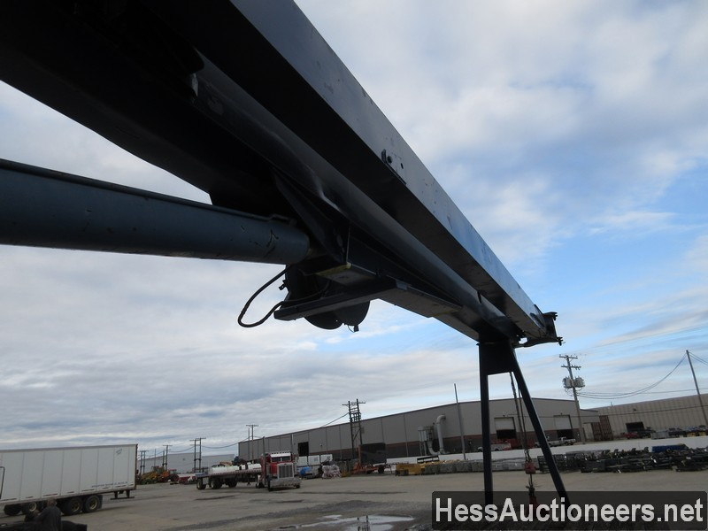 USED 1996 INTERNATIONAL 4700 CRANE TRUCK TRAILER #34387-19