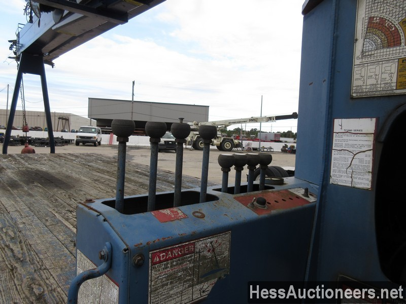 USED 1996 INTERNATIONAL 4700 CRANE TRUCK TRAILER #34387-21