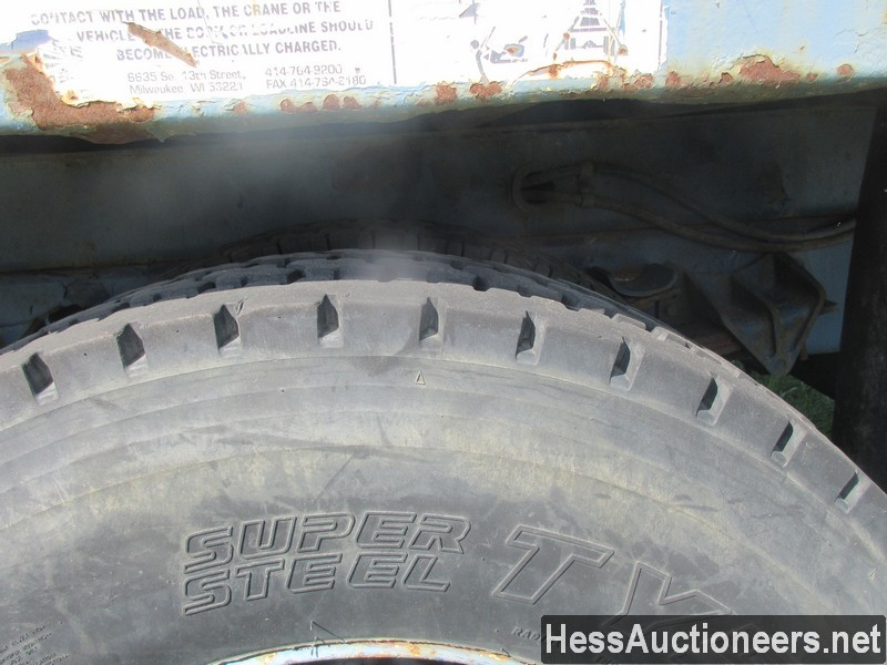 USED 1996 INTERNATIONAL 4700 CRANE TRUCK TRAILER #34387-23