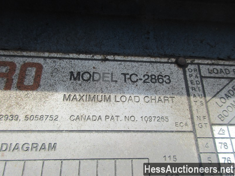 USED 1996 INTERNATIONAL 4700 CRANE TRUCK TRAILER #34387-27