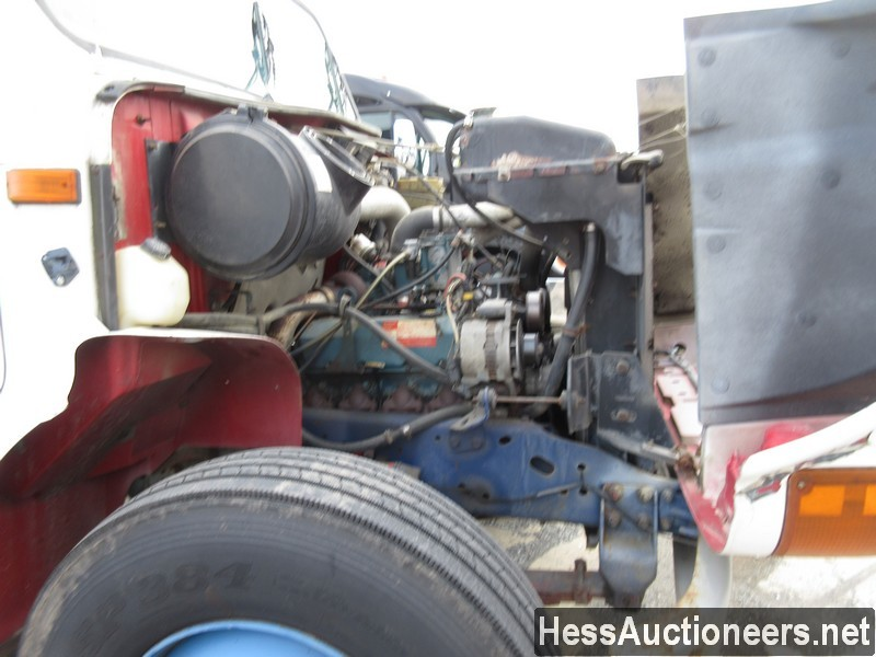 USED 1996 INTERNATIONAL 4700 CRANE TRUCK TRAILER #34387-7