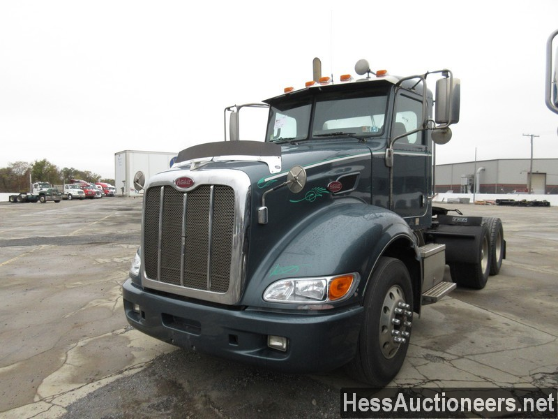 USED 2007 PETERBILT 386 TANDEM AXLE DAYCAB TRAILER #34524