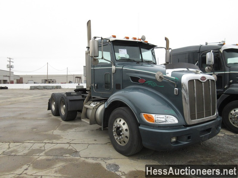USED 2007 PETERBILT 386 TANDEM AXLE DAYCAB TRAILER #34524-2