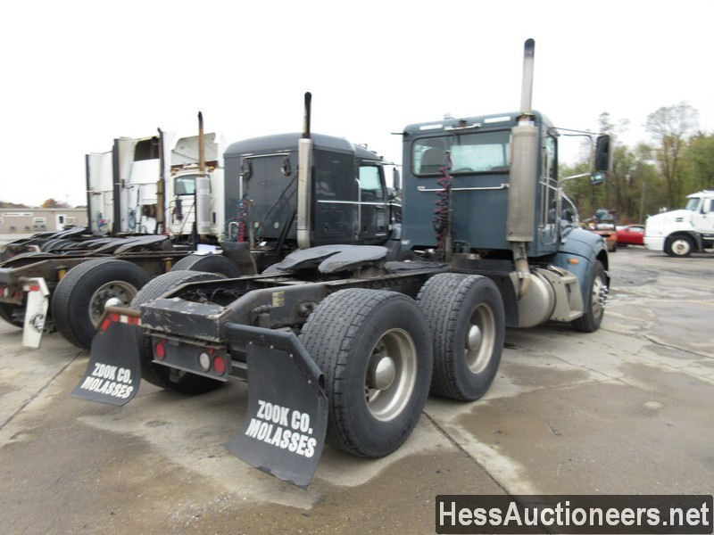 USED 2007 PETERBILT 386 TANDEM AXLE DAYCAB TRAILER #34524-3
