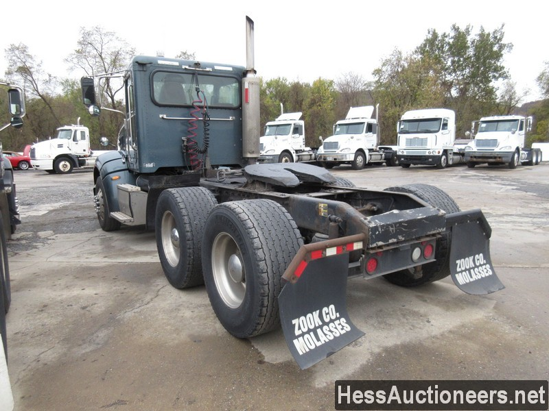 USED 2007 PETERBILT 386 TANDEM AXLE DAYCAB TRAILER #34524-4