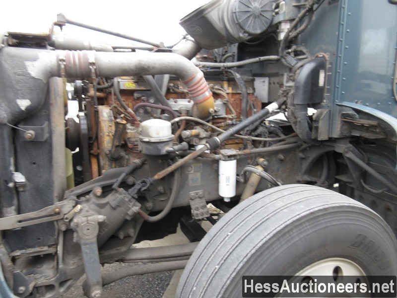 USED 2007 PETERBILT 386 TANDEM AXLE DAYCAB TRAILER #34524-6