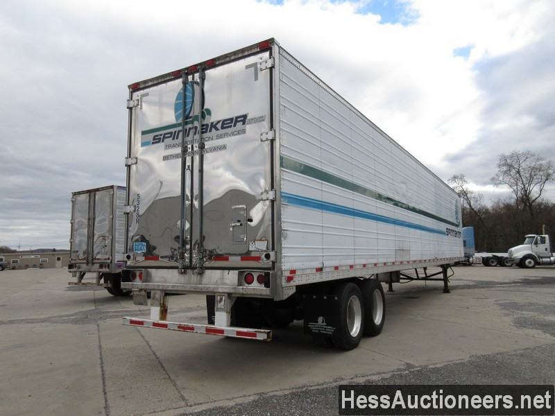USED 2003 GREAT DANE 53' REEFER TRAILER #35345-3