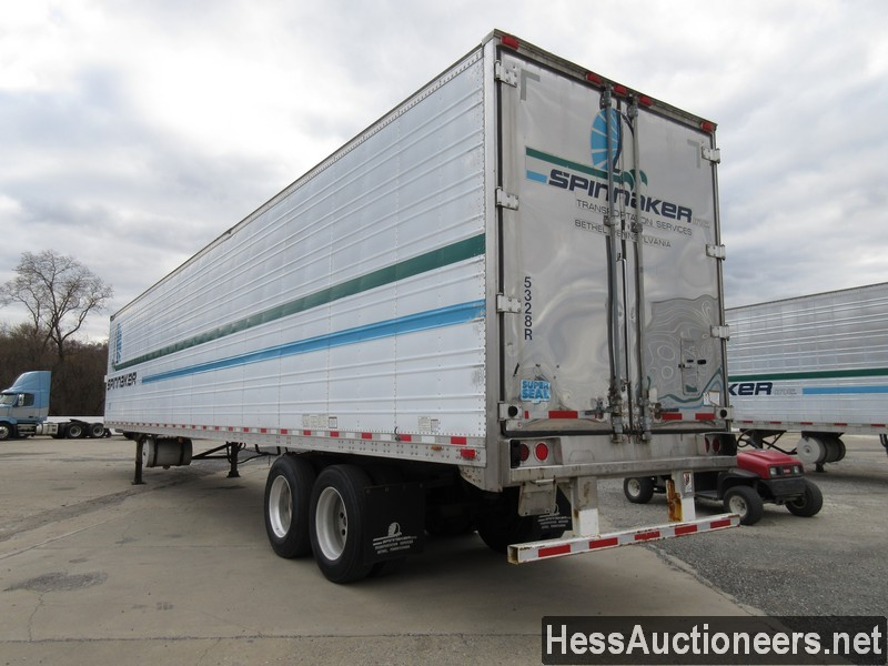 USED 2003 GREAT DANE 53' REEFER TRAILER #35345-4