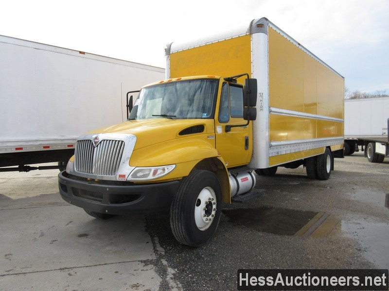 USED 2013 INTERNATIONAL 4300 BOX VAN TRUCK TRAILER #35351