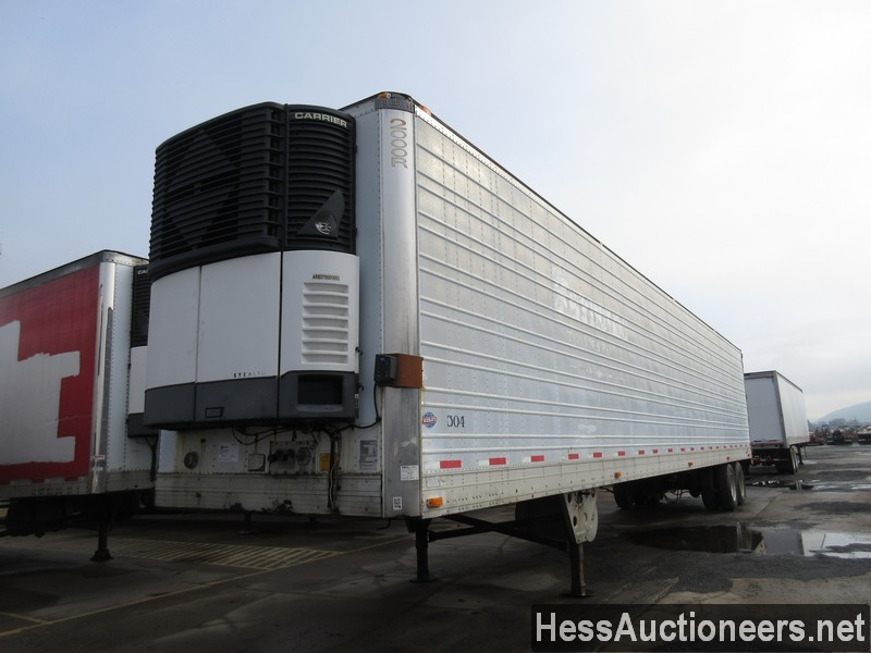 USED 1989 UTILITY VS2 REEFER TRAILER #35367
