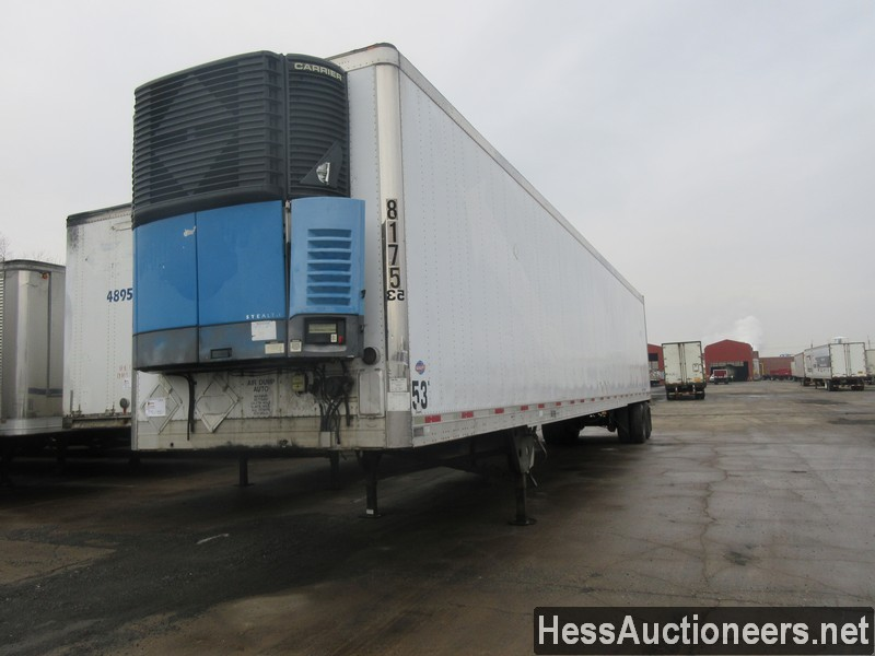 USED 2005 UTILITY VS2RA REEFER TRAILER #35368