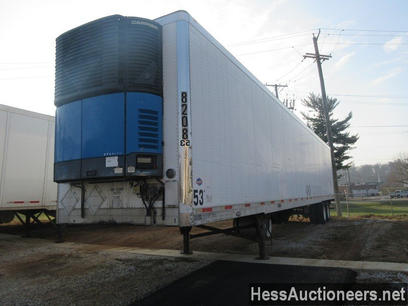 USED 2005 UTILITY VS2RA REEFER TRAILER #35369