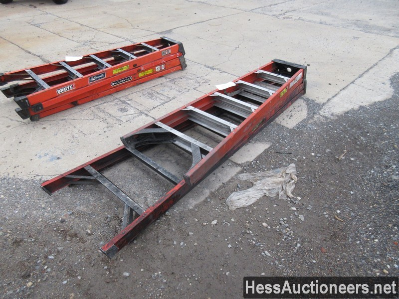 USED 2 FIBERGLASS LADDER EQUIPMENT #35391