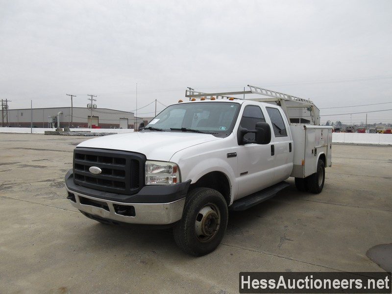 USED 2006 FORD F350 SERVICE - UTILITY TRUCK TRAILER #35428