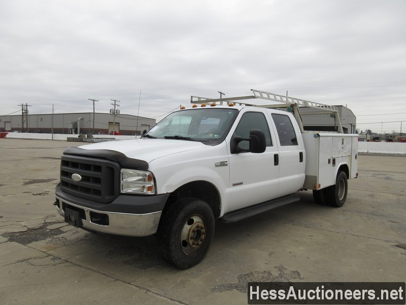 USED 2005 FORD F350 SERVICE - UTILITY TRUCK TRAILER #35429