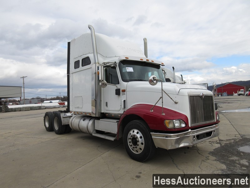USED 2007 INTERNATIONAL 9400 I TANDEM AXLE SLEEPER TRAILER #35445-2