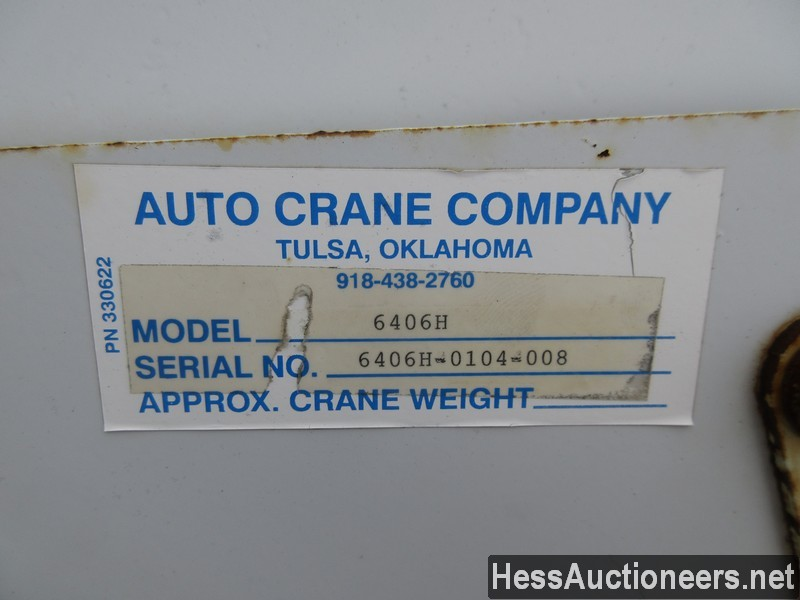 USED 2005 INTERNATIONAL 4300 SERVICE - UTILITY TRUCK TRAILER #35462-24
